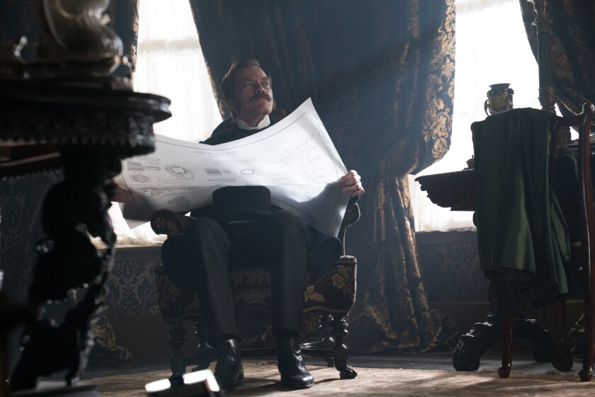 Michael Shannon as George Westinghouse in the movie 'The Current War: Director's Cut'