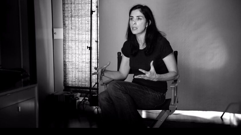 """Sarah Silverman in the documentary """"Dying Laughing."""""""