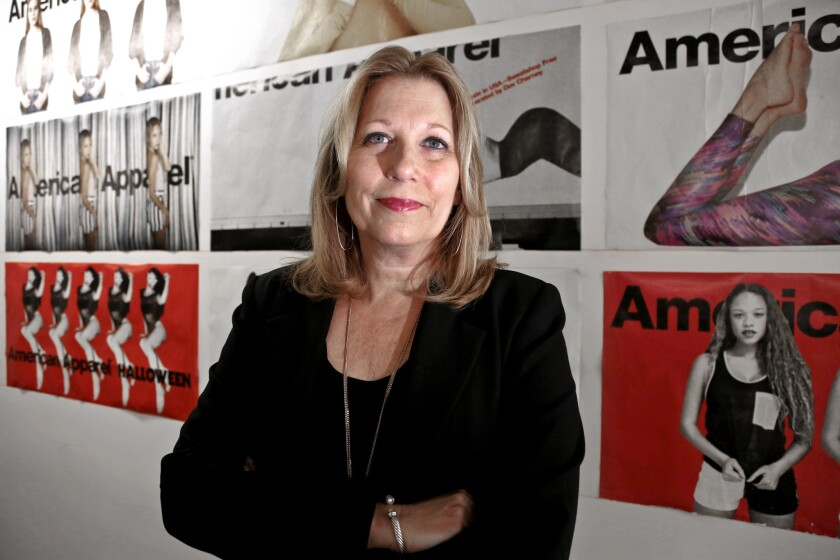 American Apparel CEO Paula Schneider, who was brought on to turn the company around, is leaving Oct. 3.