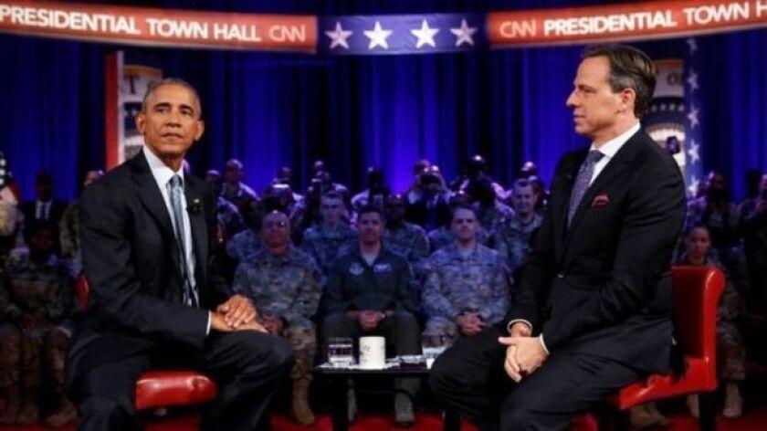 El presidente estadounidense expresó su rechazo a la decisión tomada por las dos cámaras del Congreso en una entrevista en CNN.