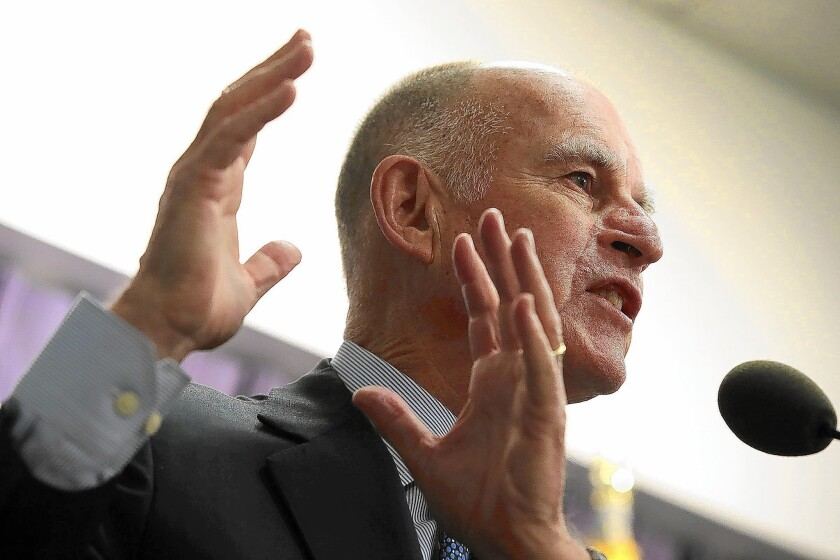Gov. Jerry Brown signed a bill allowing 16-year-olds to preregister to vote as a way to increase voting among young people.