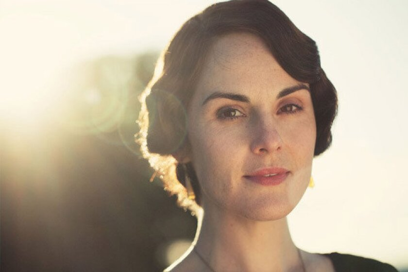 """Michelle Dockery plays Lady Mary in """"Downton Abbey."""""""