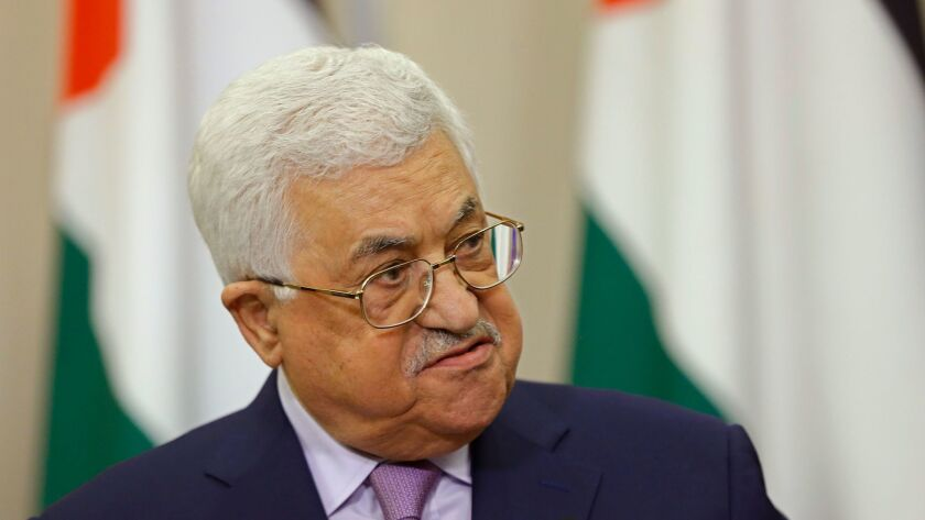 Palestinian Authority President Mahmoud Abbas reportedly said U.S. envoys have so far provided little clarity on the possibility of a two-state solution to the Israeli-Palestinian conflict.