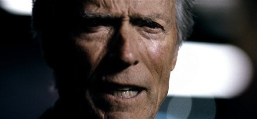 """This advertisement provided by Chrysler Group LLC, shows actor Clint Eastwood, featured in an ad titled """"It's Halftime In America,"""" which aired during Super Bowl XVLI, Sunday, Feb. 5, 2012. AP Photo/Chrysler Group LLC)"""