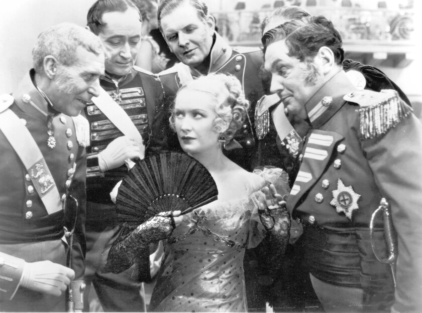 """Miriam Hopkins in """"Becky Sharp,"""" 1935, directed by Rouben Mamoulian."""