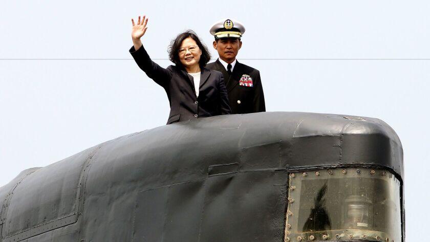Taiwan's President T