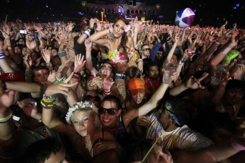 The Electric Daisy Carnival in 2010.