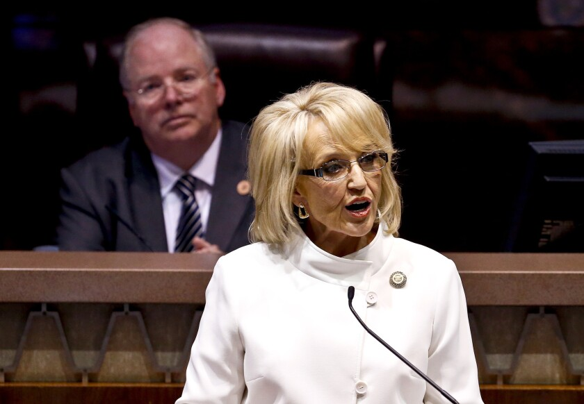 Gov. Jan Brewer, Arizona's loose cannon