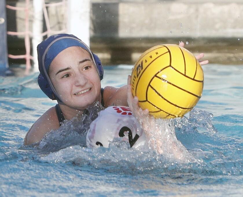 Photo Gallery: Flintridge Prep vs. Mayfield in Prep League girls' water polo