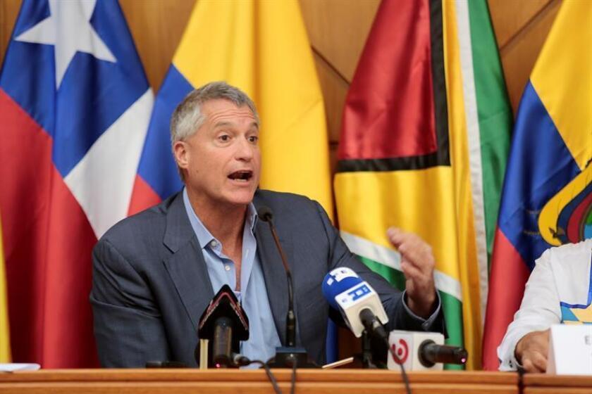 """Una corte de apelaciones de Nueva York ha suspendido de su ejercicio por """"mala conducta profesional"""" al abogado estadounidense Steven Donziger, que representa a comunidades ecuatorianas afectadas por la contaminación de la petrolera Chevron y que en 2011 ganó un juicio contra la firma. EFE/Archivo"""
