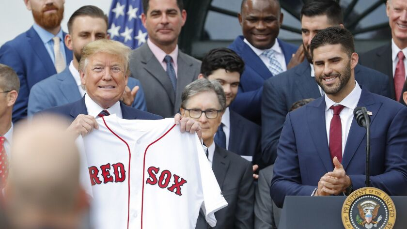 Donald Trump, J.D. Martinez
