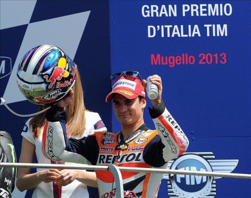 El español Dani Pedrosa (Repsol Honda RC 213 V). EFE