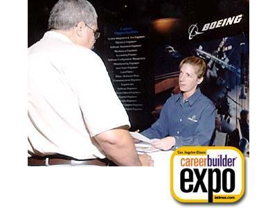 Boeing, a participating expo employer