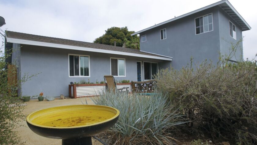 A home in Carlsbad in late July.