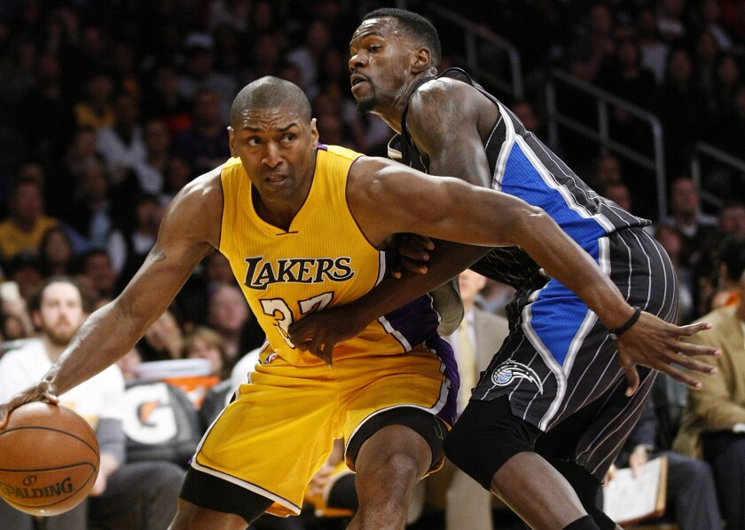Lakers' Metta World Peace, 36, plans to stick around as a player a bit longer