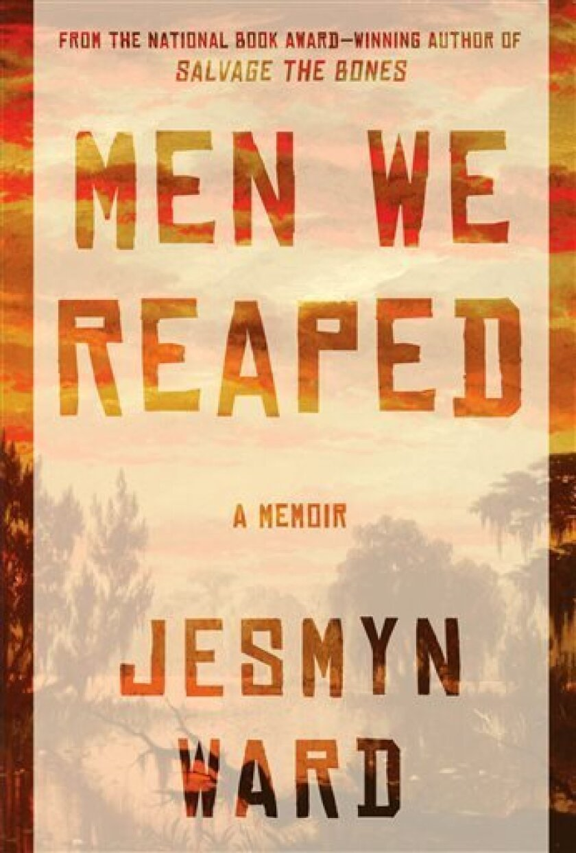"""This publicity photo released by Bloomsbury USA shows the cover of the book, """"Men We Reaped,"""" by Jesmyn Ward. (AP Photo/Bloomsbury USA)"""