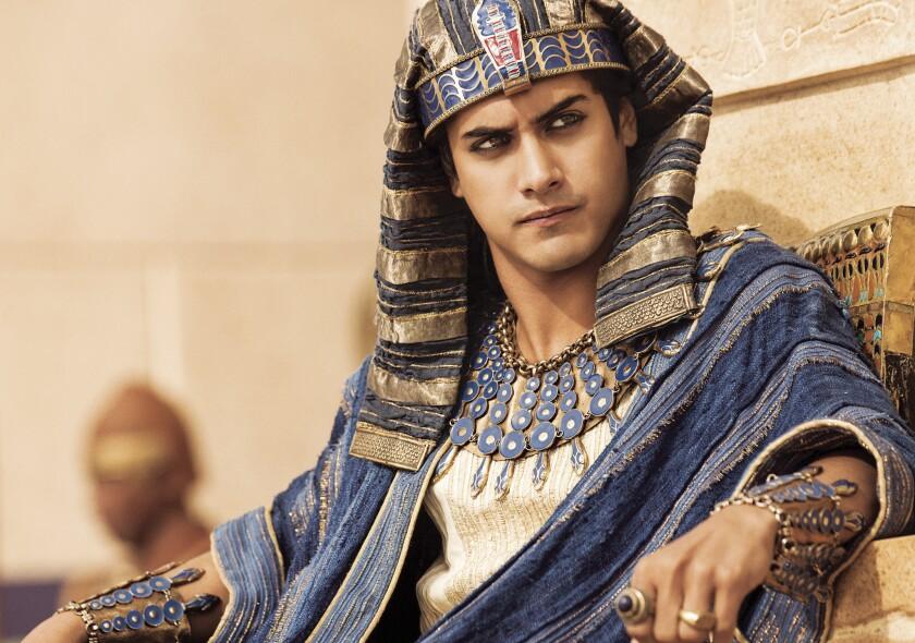 """Avan Jogia as King Tut in """"Tut."""""""