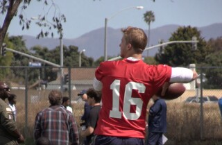 Watch: The Rams continue rookie mini-camp in Oxnard