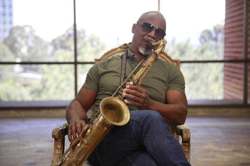 San Diego based saxophonist Karl Denson.