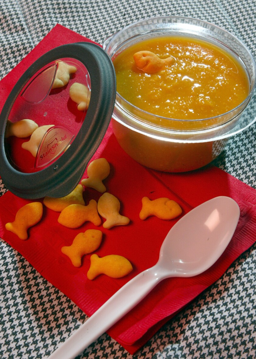 Butternut squash and corn soup