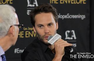 Taylor Kitsch fought against judging his character in 'Waco'