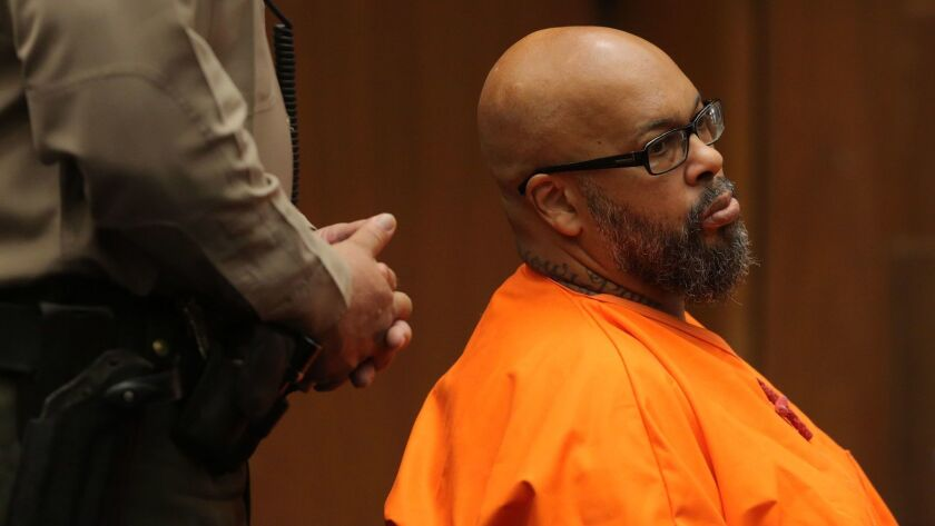 "Marion ""Suge"" Knight was sentenced Thursday to 28 years in prison."
