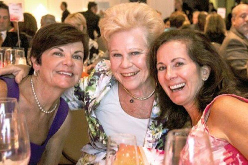 Maureen McCaslin, Anne Newbury and Shannon Matwiyoff. Photo by Stephanie Pillar