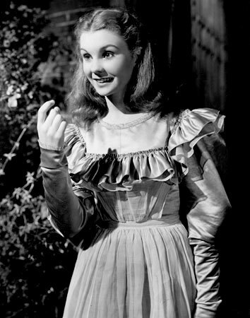 "Jean Simmons as Estella in the 1946 film ""Great Expectations."""