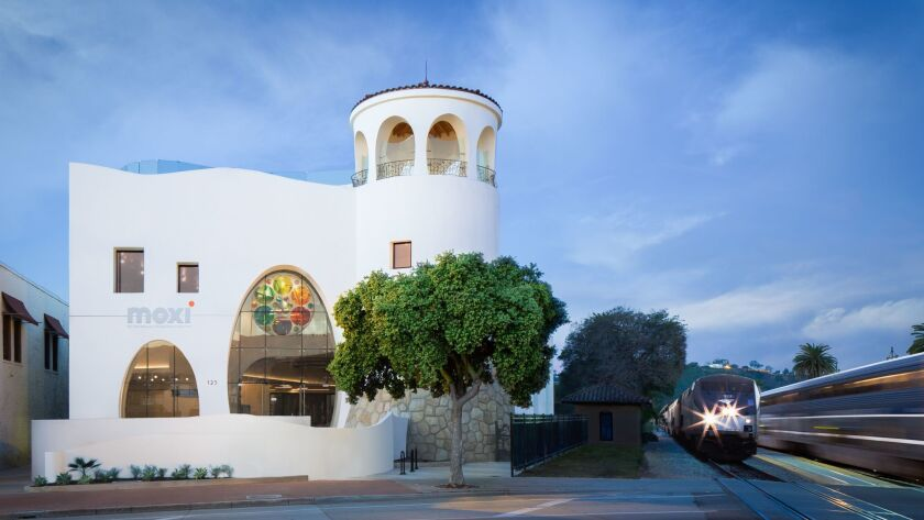 MOXI, the Wolf Museum of Exploration + Innovation,is located at 125 State St. in Santa Barbara, next to the Amtrak Station.