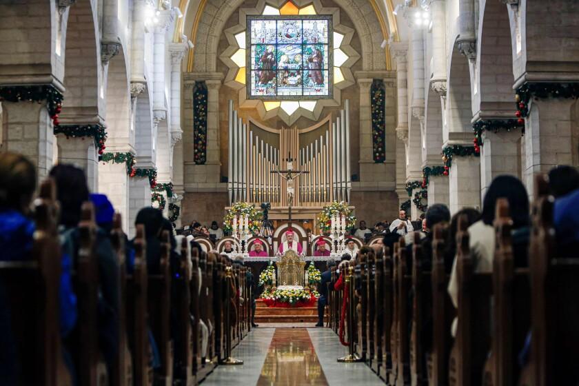 Christmas Eve Mass in Bethlehem