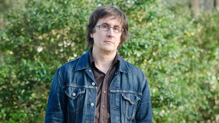 """John Darnielle, author of the novel """"Wolf in White Van,"""" longlisted for the National Book Award"""