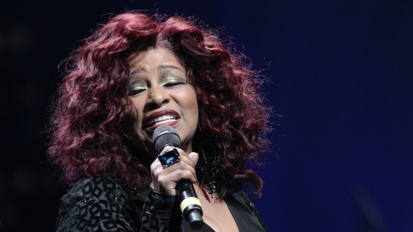 Chaka Khan at the Thelonious Monk Institute's annual All Star Gala in Hollywood in November 2014.
