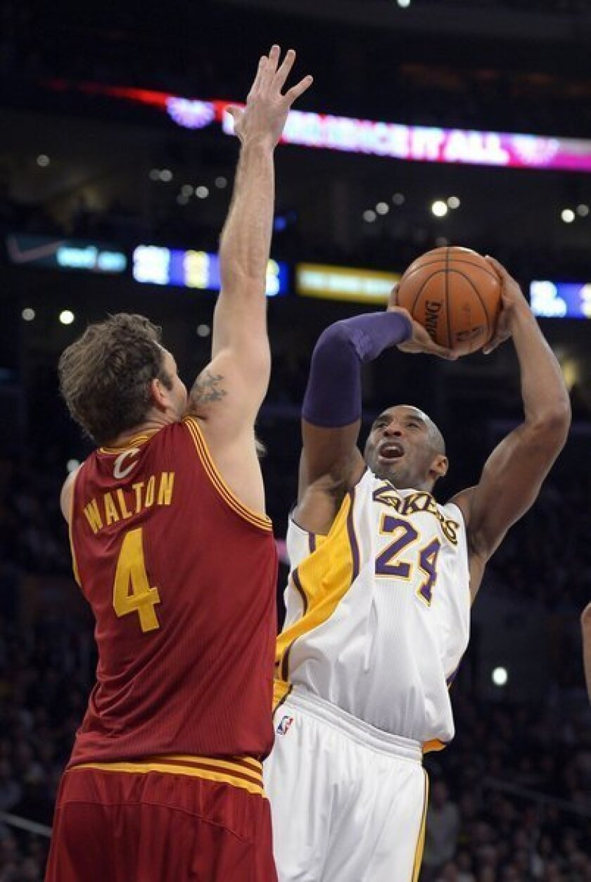 Fans of Cleveland Cavaliers can't help but root for the Lakers