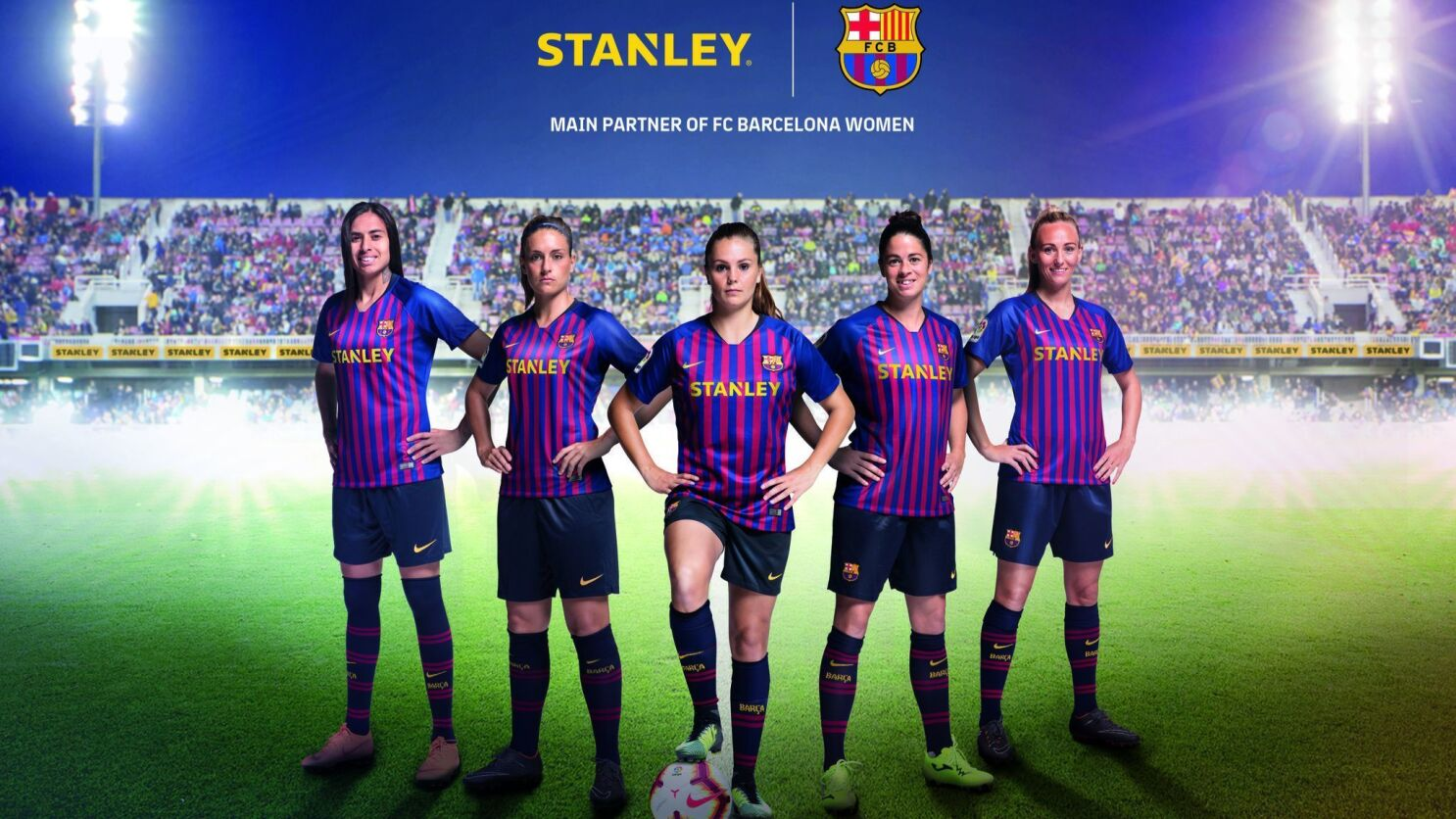 Barcelona Women S Soccer Team Is Sponsored By Stanley Black Decker Los Angeles Times