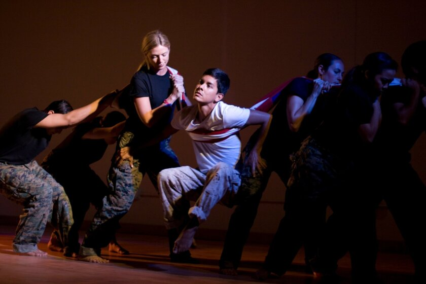"""The Movement Initiative presents the dance theater piece """"Victor Charlie"""" at San Diego International Fringe Festival."""