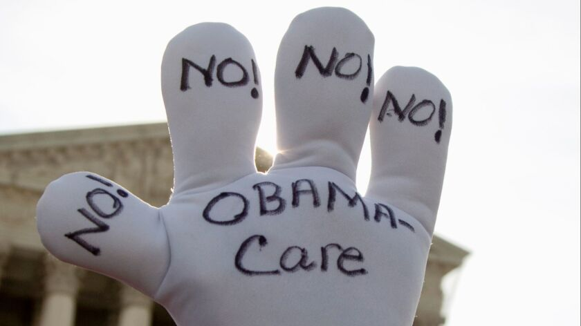 No longer the Republican default position on the Affordable Care Act?