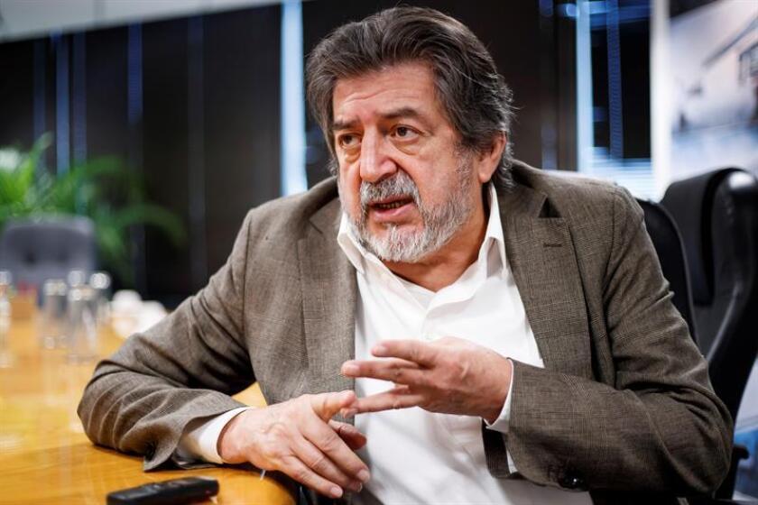 El director del Fondo Nacional de Fomento al Turismo (Fonatur), Rogelio Jiménez Pons, habla durante una entrevista con Efe el pasado jueves, 24 de enero de 2019, en Ciudad de México (México). EFE