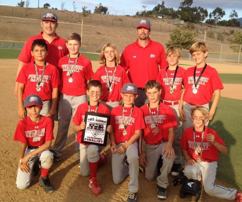 The Del Mar Powerhouse 11U players were finalists in the XDS Battle of the Bats tournament.