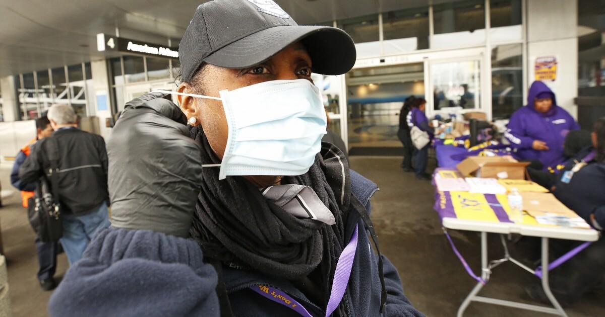 Kalifornien Flughafen Beschäftigten Treffer von coronavirus: Hier ist was wir wissen