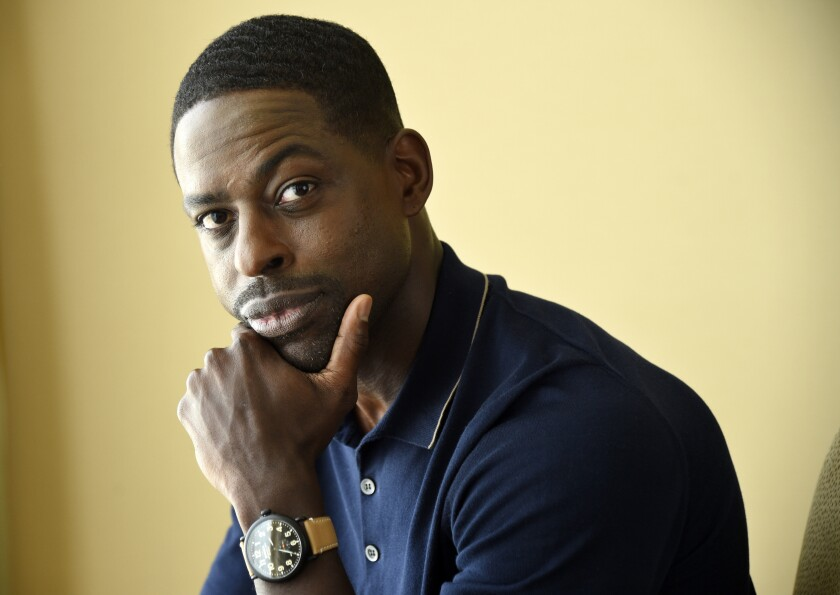 """FILE - This Aug. 3, 2017 file photo shows actor Sterling K. Brown, a cast member in the NBC series """"This Is Us,"""" in Beverly Hills, Calif. Brown stars in the TV series """"This Is Us,"""" and the new film """"Waves,"""" in theaters on Nov. 15. Brown also voices a character in """"Frozen 2"""" and has a role in season three of Amazon's """"The Marvelous Mrs. Maisel."""" (Photo by Chris Pizzello/Invision/AP, File)"""