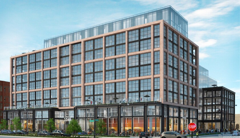 Developer Sterling Bay unveiled plans for McDonald's West Loopheadquarters June 22, 2016. The two-buidling structure at 1045 W. Randolph St. would be a608,000-square-foot complex.