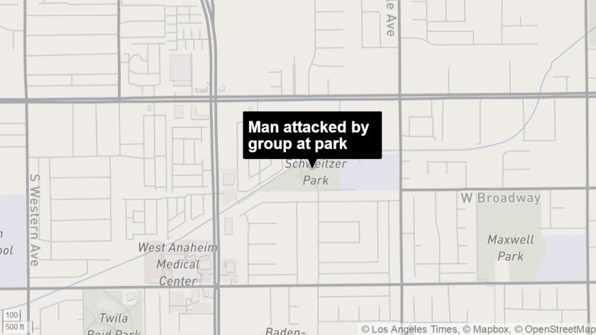 Man attacked by group