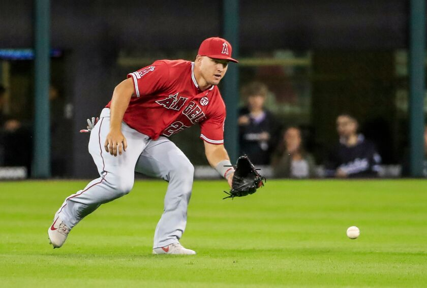Angels star Mike Trout not a fan of needle work necessary to relieve foot pain
