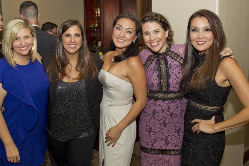 Carolyn Kinney, Sasha Rietti, Jenny Hong, Jen Davidson, Sherry Hsieh