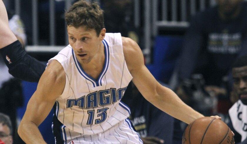 Luke Ridnour spent last season with the Orlando Magic.