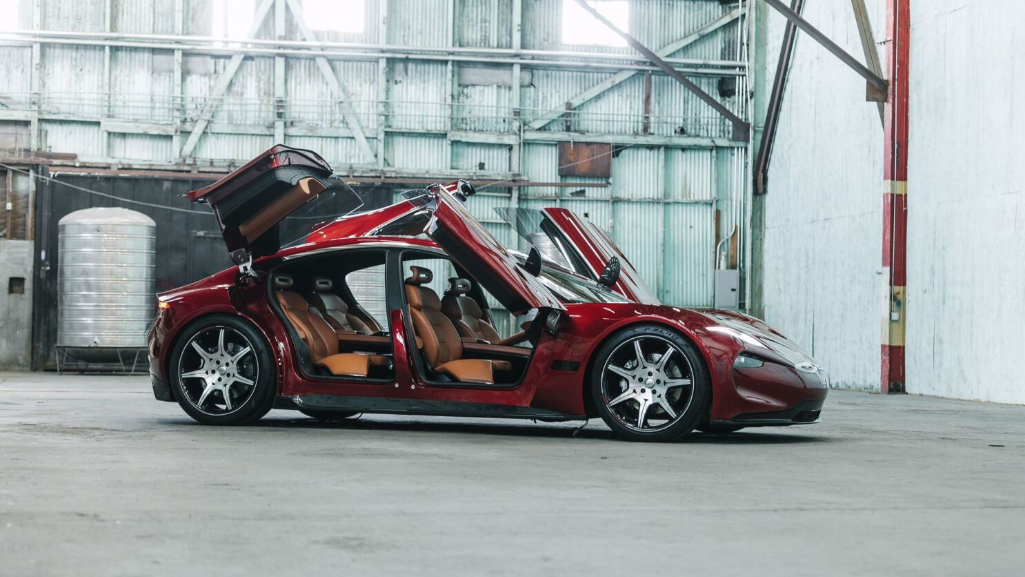 Fisker at CES: A $130,000 electric sedan and a radical new