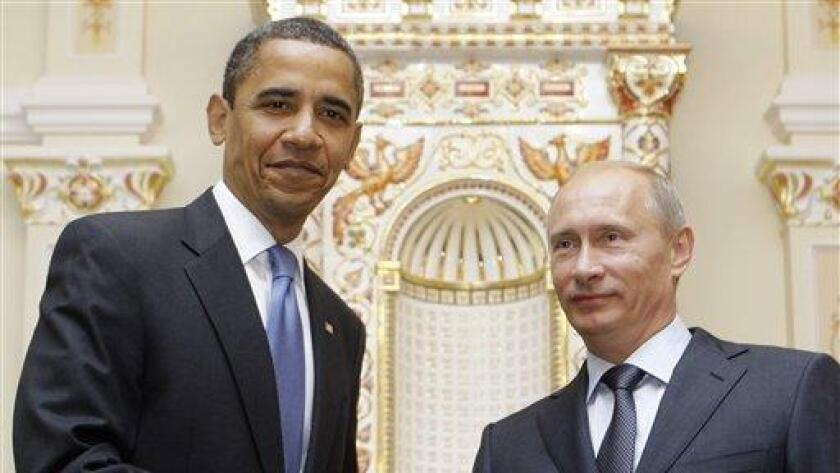 When meeting in 2009, President Obama and Russian leader Vladimir Putin could summon up smiles for photographers, but perhaps not anymore.