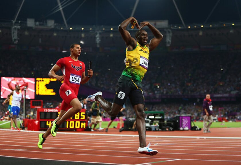 Usain Bolt might try soccer after track