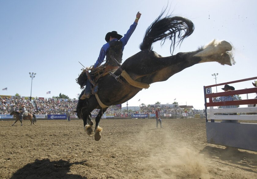 The 55th annual Lakeside rodeo takes place Friday, Saturday and Sunday at the Lakeside Arena.