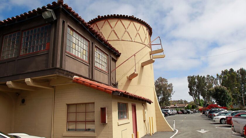 The fate of historic sewer digester building at the corner of Forest and Laguna Canyon Road is uncer